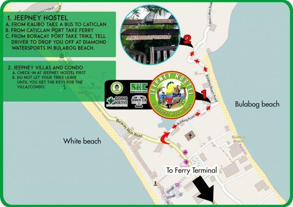Hostal Jeepney  and Kite Resort