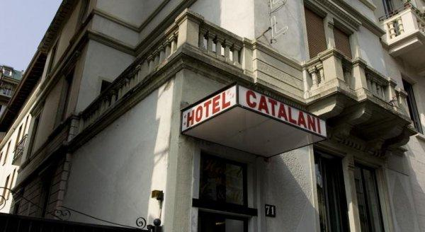 Hotel Catalani and Madrid