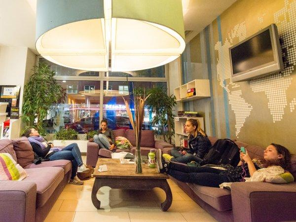 Hostal wombat's CITY s Vienna – the LOUNGE