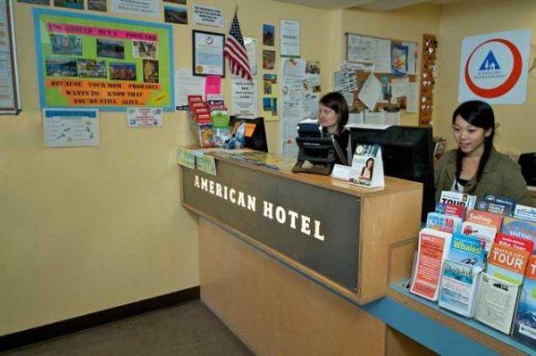 Hostal HI - Seattle at the American Hotel