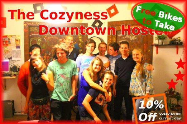 Hostal The Cozyness Downtown