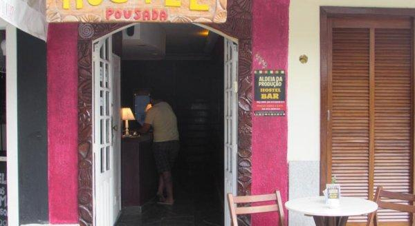 Hostal Aldeia Produção  Bar
