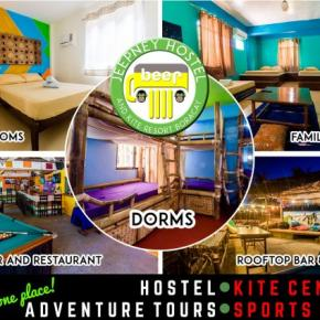 Hostales y Albergues - Hostal Jeepney  and Kite Resort