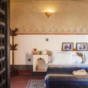 Hostales y Albergues - Maison d'Hôtes Ecolodge l'île de Ouarzazate