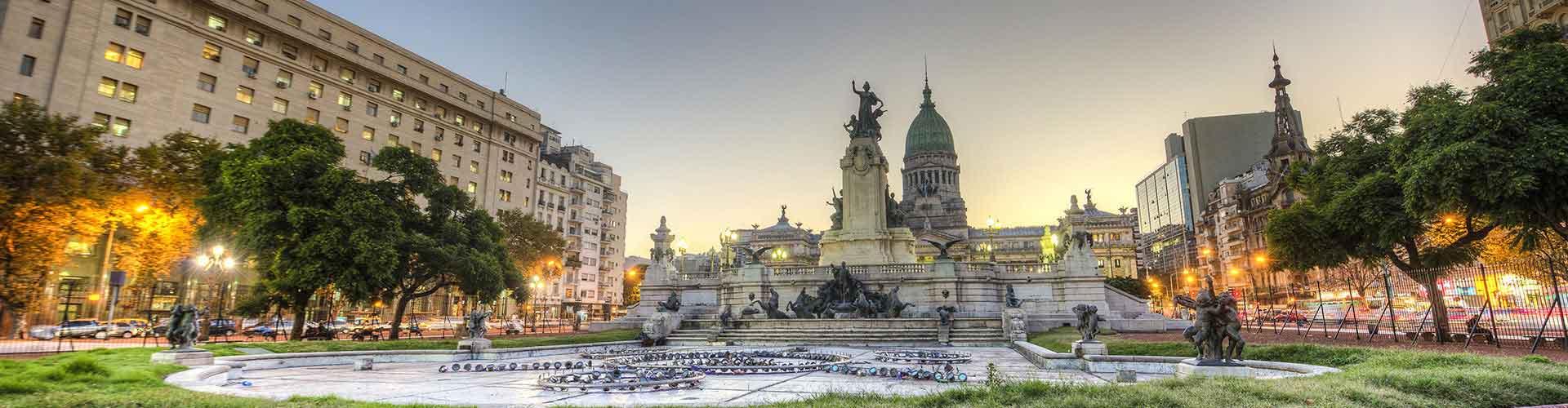 Buenos Aires - Hoteles baratos cerca a Estación de tren de Retiro. Mapas de Buenos Aires, Fotos y comentarios de cada Hotel en Buenos Aires.