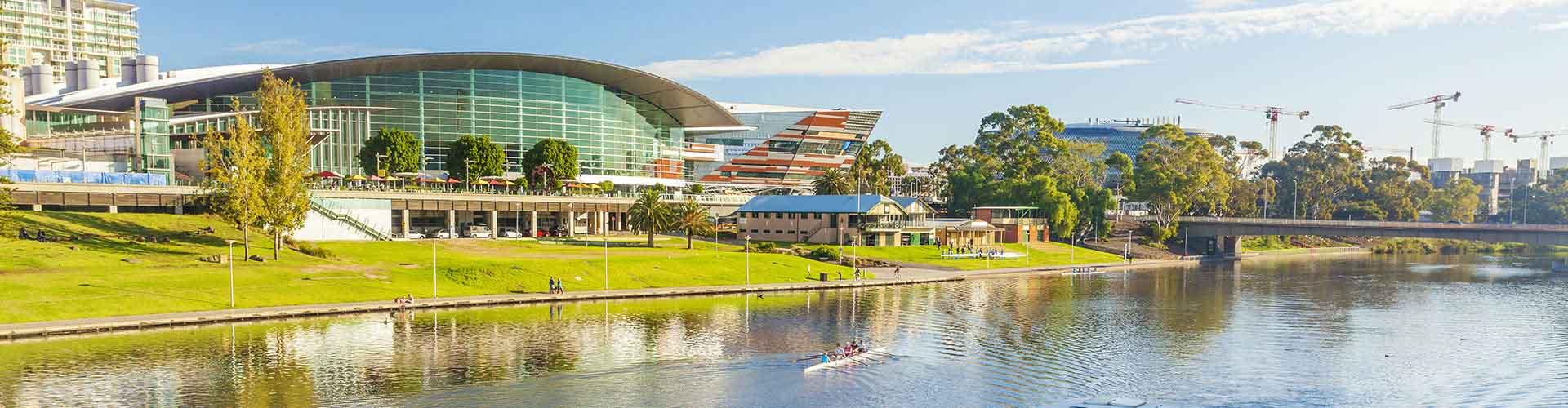 Adelaida - Hostales en el distrito  Adelaide  Distrito Central de Negocios . Mapas de Adelaida, Fotos y comentarios de cada Hostal en Adelaida.