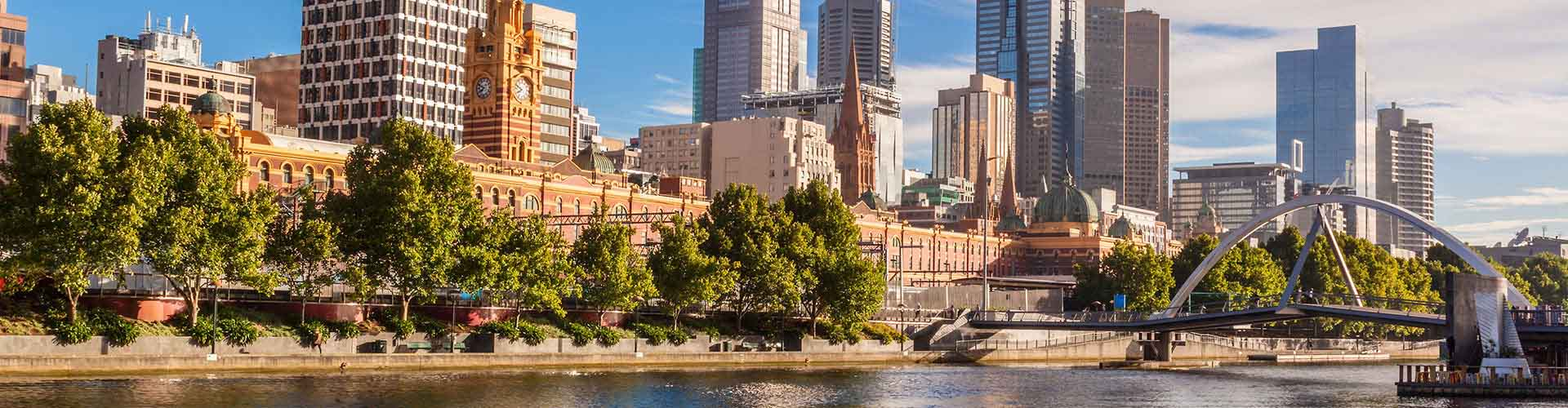 Melbourne - Campamentos en el distrito Melbourne. Mapas de Melbourne, Fotos y comentarios de cada Campamento en Melbourne.