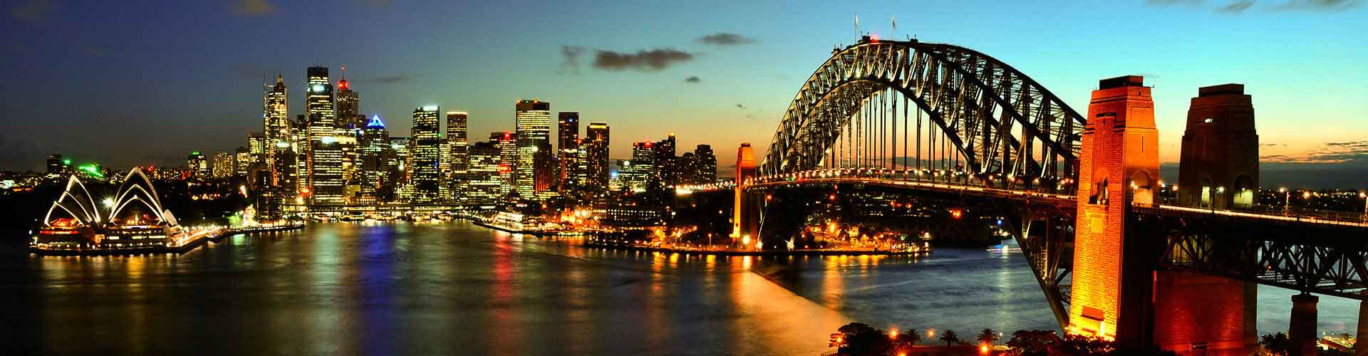 Sydney - Campamentos en el distrito Este de Sydney. Mapas de Sydney, Fotos y comentarios de cada Campamento en Sydney.