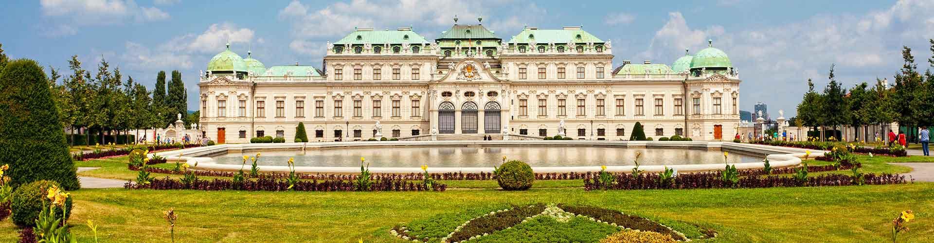 Viena - Hostales en el distrito Favoriten. Mapas de Viena, Fotos y comentarios de cada Hostal en Viena.