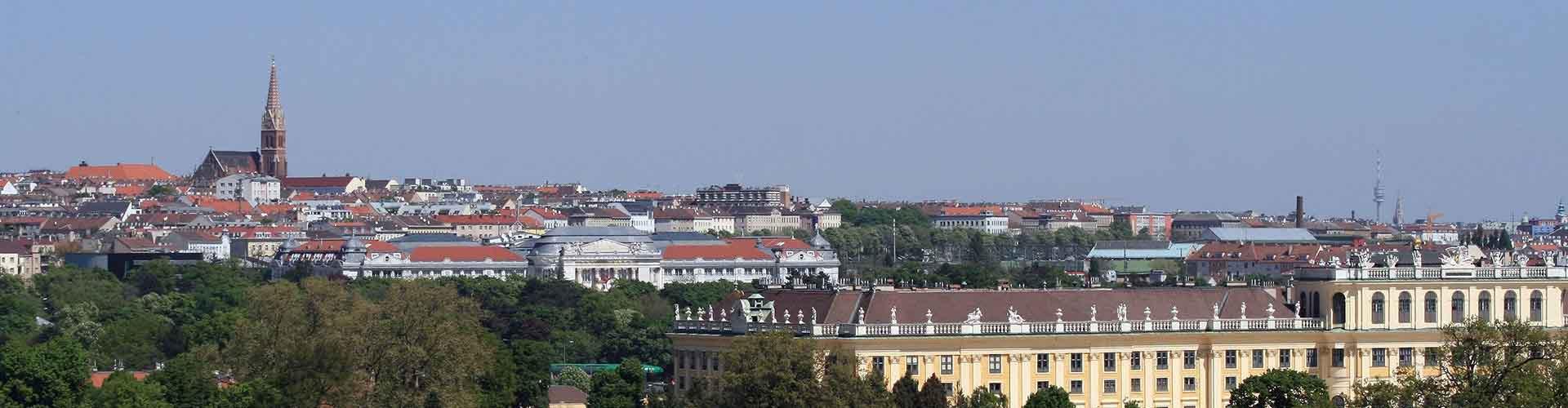 Viena - Hostales en el distrito Rudolfsheim-Fuenfhaus. Mapas de Viena, Fotos y comentarios de cada Hostal en Viena.