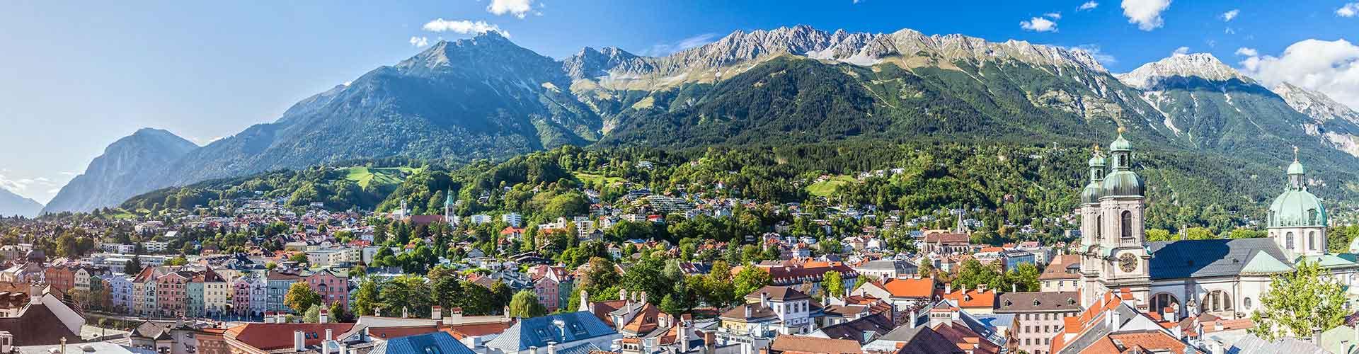 Innsbruck - Campamentos en Innsbruck. Mapas de Innsbruck, Fotos y comentarios de cada Campamento en Innsbruck.