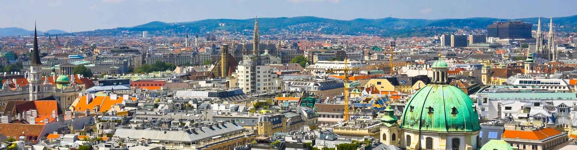 Viena - Hostales cerca a Estación de tren Central en Wiena . Mapas de Viena, Fotos y comentarios de cada Hostal en Viena.