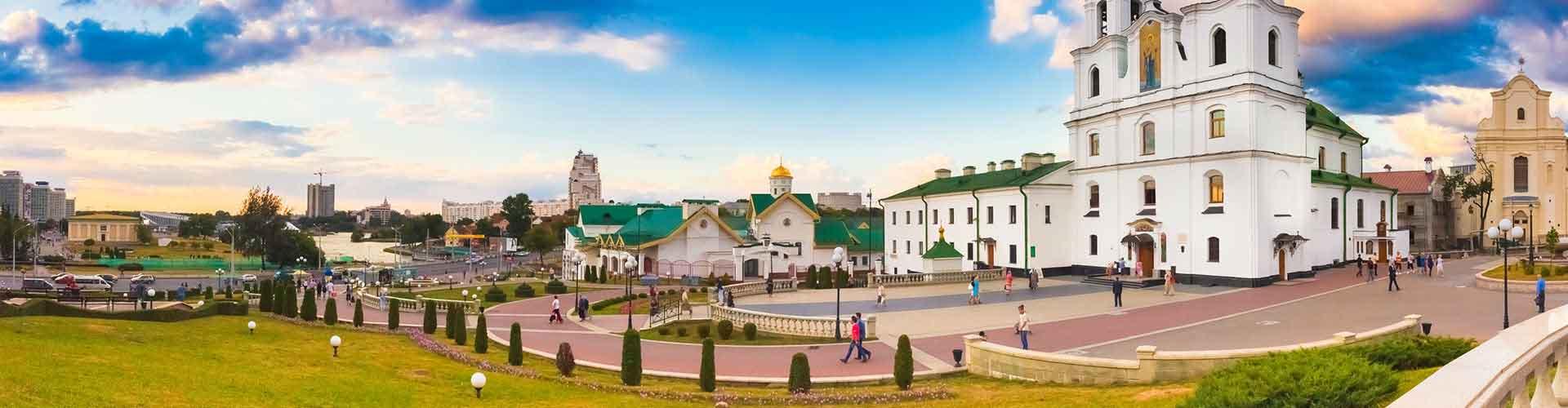 Minsk - Hostales en Minsk. Mapas de Minsk, Fotos y Comentarios para cada hostal en Minsk.