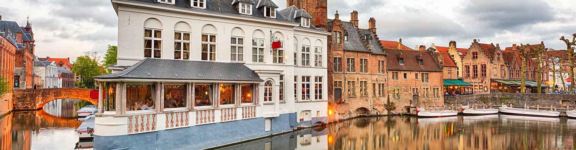Brujas - Hoteles baratos cerca a City Center. Mapas de Brujas, Fotos y comentarios de cada Hotel en Brujas.