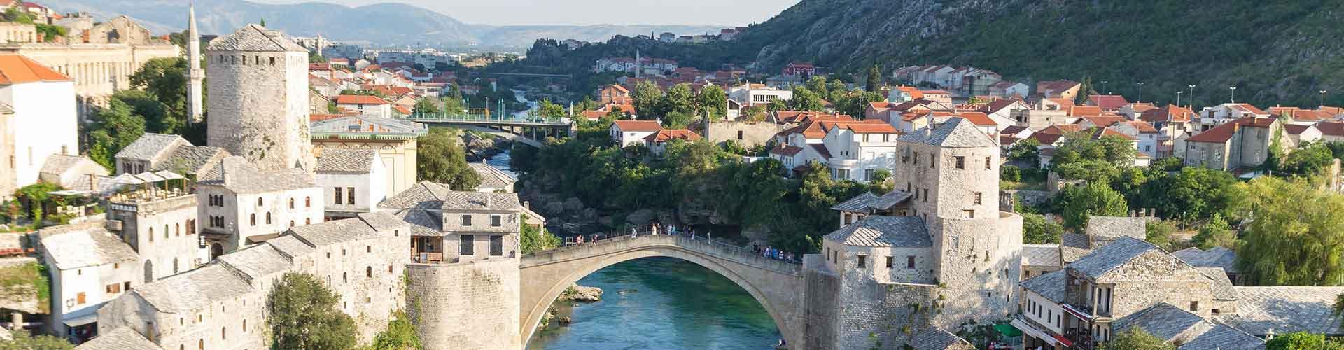 Mostar - Hoteles baratos en Mostar. Mapas de Mostar, Fotos y comentarios de cada Hotel en Mostar.