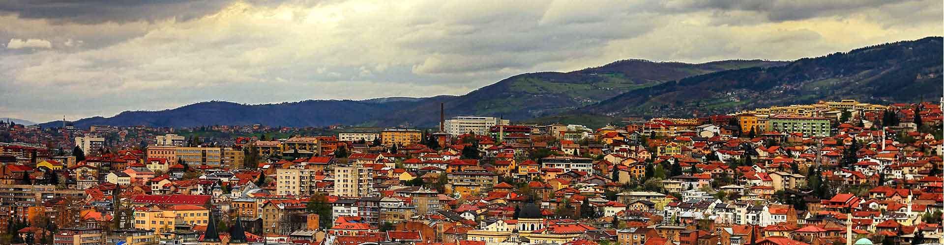 Sarajevo - Hostales en Sarajevo. Mapas de Sarajevo, Fotos y comentarios de cada Hostal en Sarajevo.