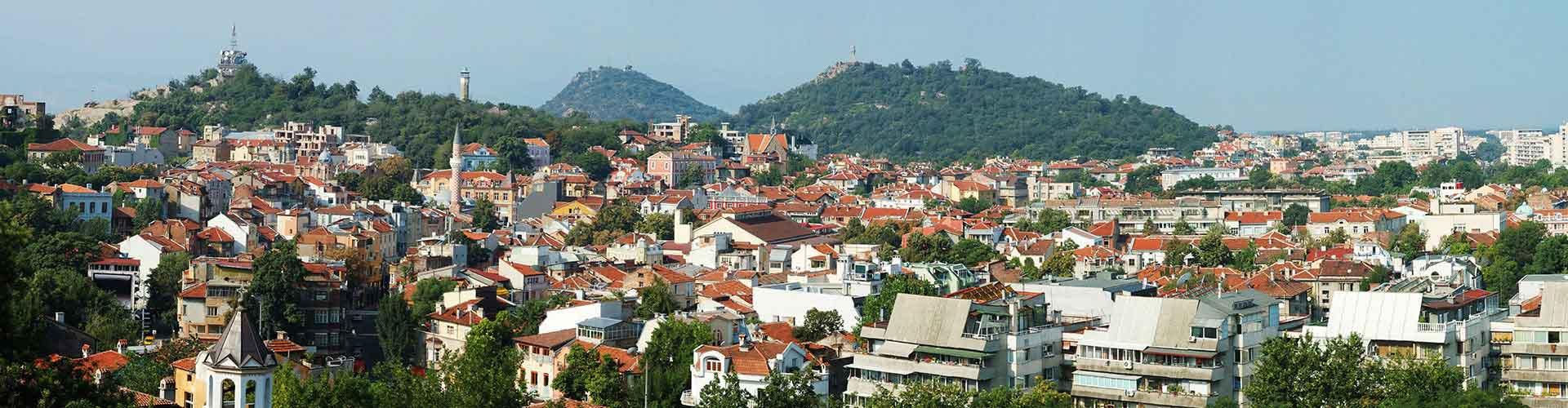 Plovdiv - Apartamentos en el distrito Rayon Trakia. Mapas de Plovdiv, Fotos y comentarios de cada Apartamento en Plovdiv.