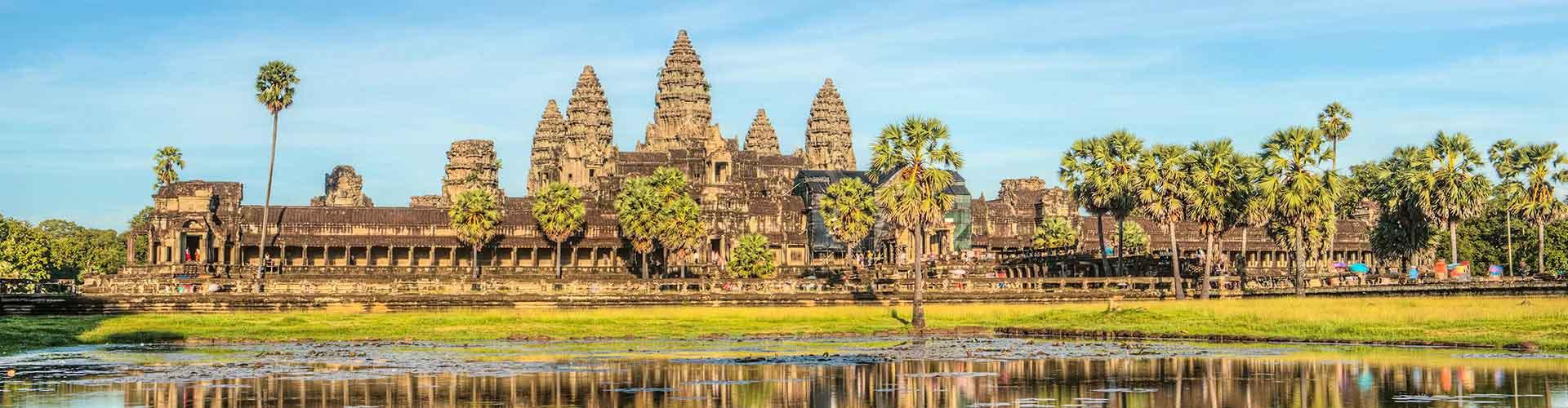 Siem Reap - Hostales en Siem Reap. Mapas de Siem Reap, Fotos y comentarios de cada Hostal en Siem Reap.