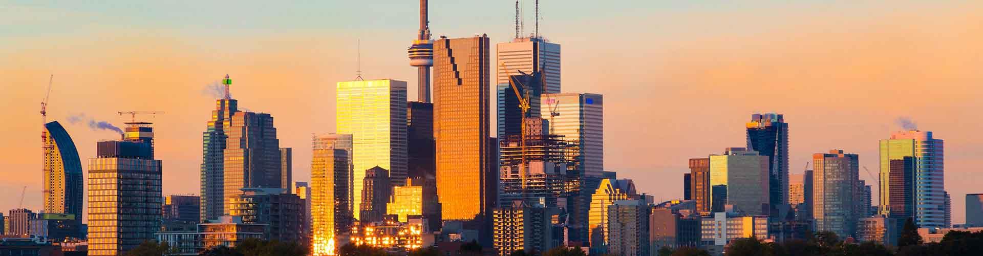 Toronto - Hostales en el distrito El centro de Toronto. Mapas de Toronto, Fotos y comentarios de cada Hostal en Toronto.