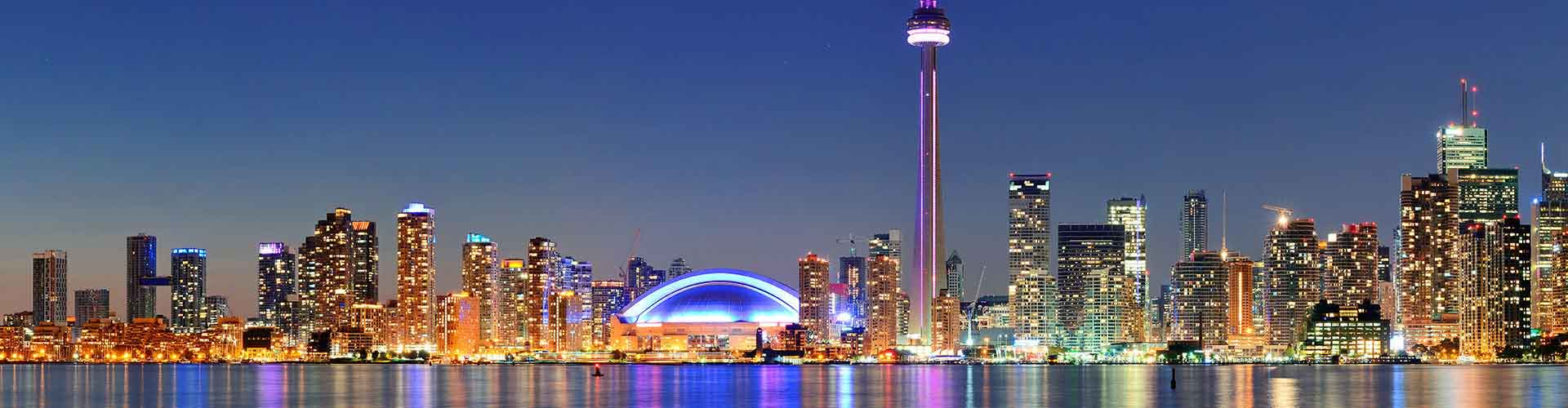 Toronto - Hostales cerca a CN Tower. Mapas de Toronto, Fotos y comentarios de cada Hostal en Toronto.
