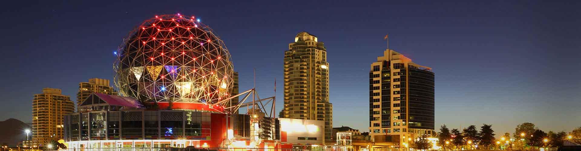 Vancouver - Campamentos en Vancouver. Mapas de Vancouver, Fotos y comentarios de cada Campamento en Vancouver.