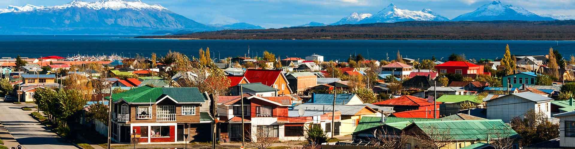 Puerto Natales - Hostales en Puerto Natales. Mapas de Puerto Natales, Fotos y comentarios de cada Hostal en Puerto Natales.