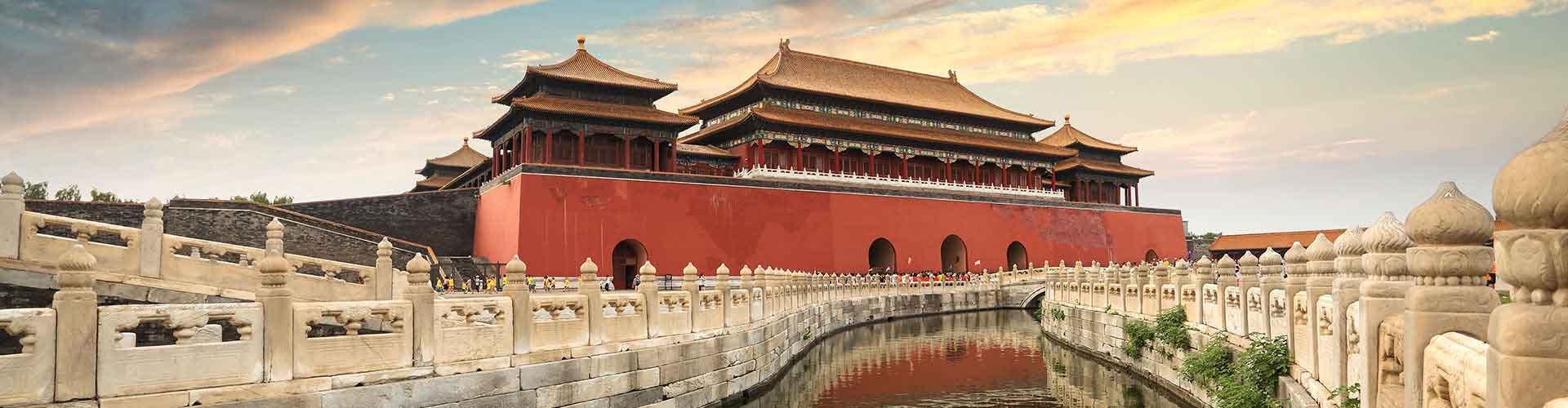 Beijing - Campamentos cerca a Estación de tren de Pekín Sur. Mapas de Beijing, Fotos y comentarios de cada Campamento en Beijing.