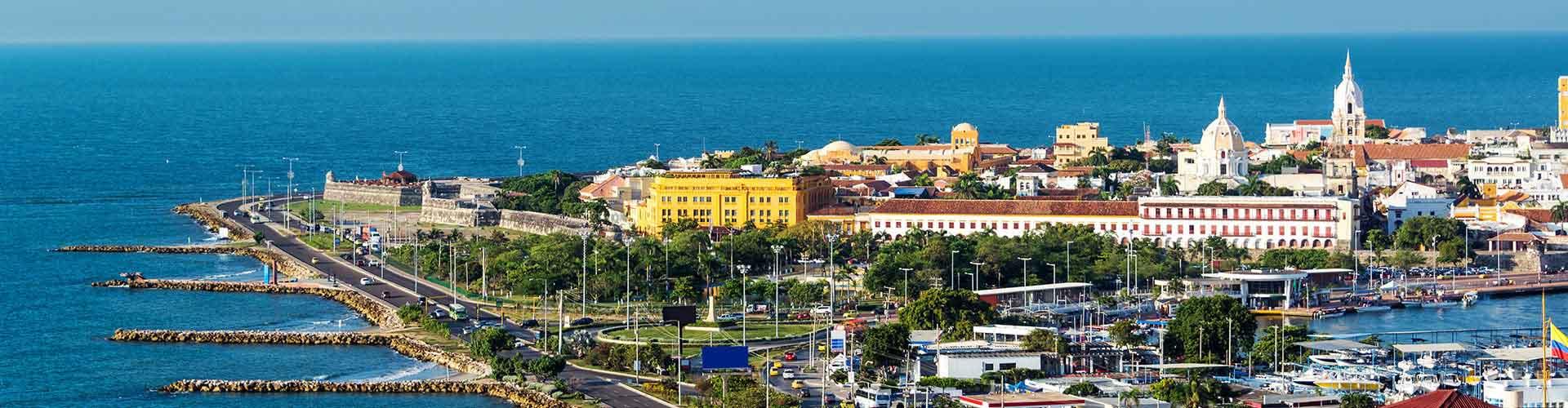 Cartagena - Hostales en Cartagena. Mapas de Cartagena, Fotos y comentarios de cada Hostal en Cartagena.