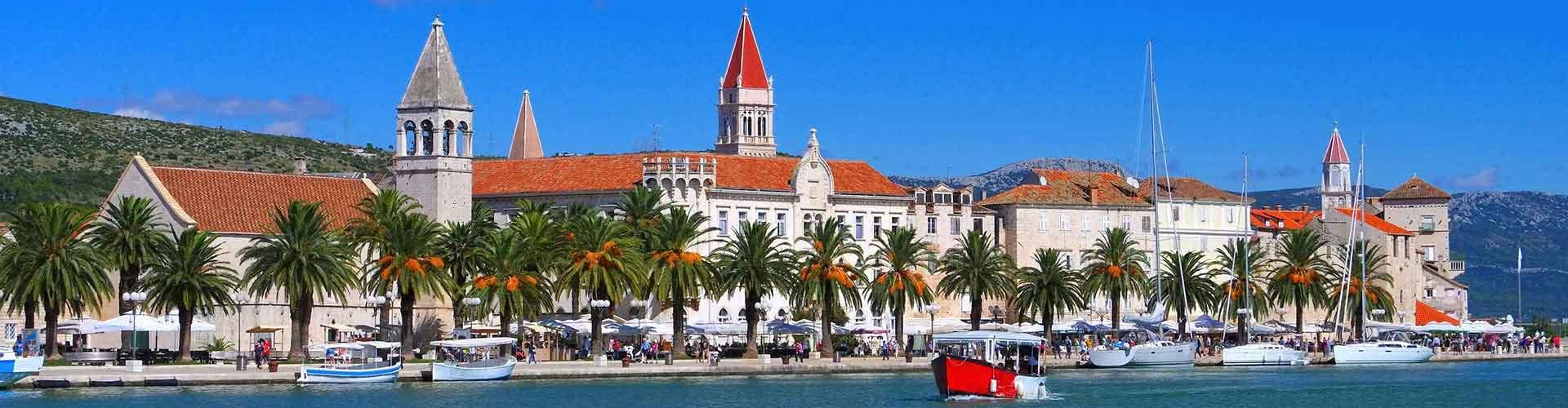 Trogir - Hoteles baratos en Trogir. Mapas de Trogir, Fotos y comentarios de cada Hotel en Trogir.