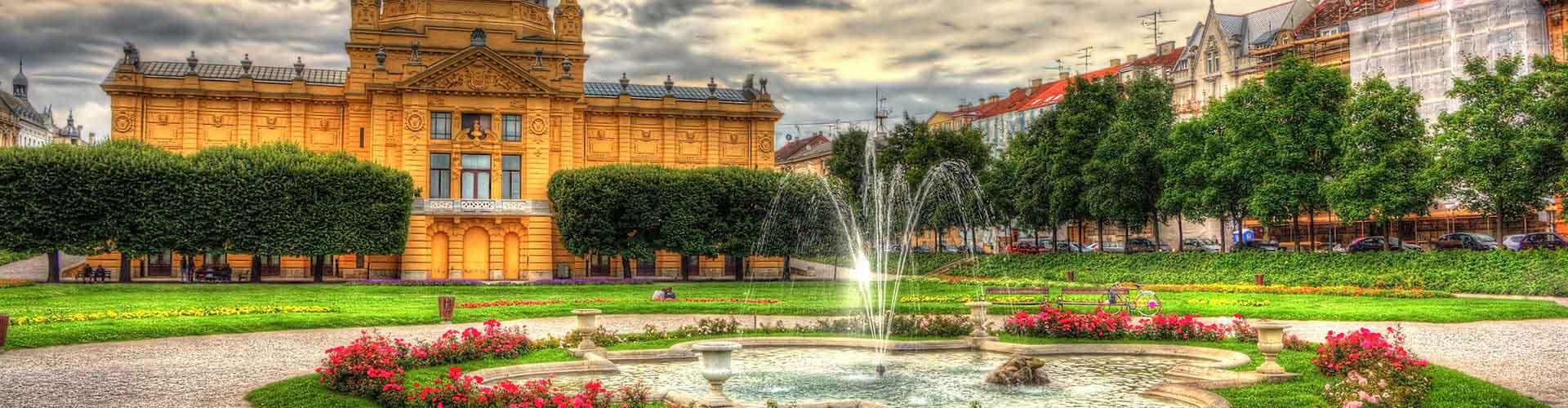 Zagreb - Habitaciones en Zagreb. Mapas de Zagreb, Fotos y comentarios de cada Habitación en Zagreb.