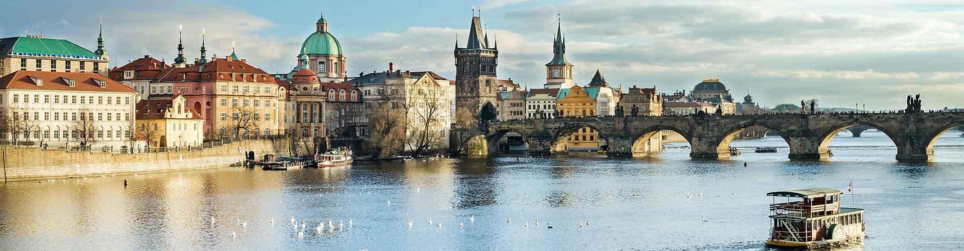 Praga - Habitaciones en el distrito Praga 1. Mapas de Praga, Fotos y comentarios de cada Habitación en Praga.