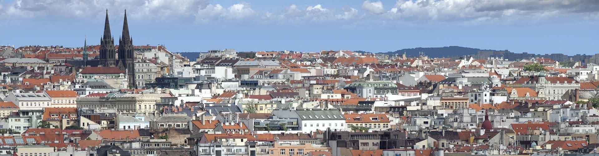 Praga - Apartamentos en el distrito Vinohrady. Mapas de Praga, Fotos y comentarios de cada Apartamento en Praga.