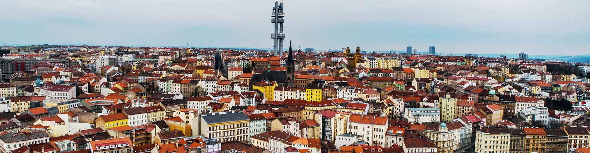 Praga - Hostales en el distrito Zizkov. Mapas de Praga, Fotos y comentarios de cada Hostal en Praga.