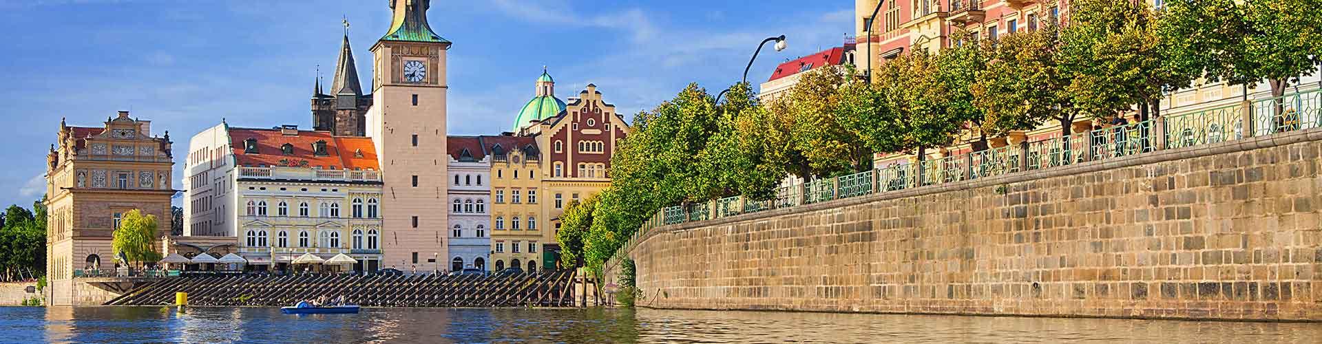 Praga - Campamentos cerca a Bedrich Smetana Museum. Mapas de Praga, Fotos y comentarios de cada Campamento en Praga.