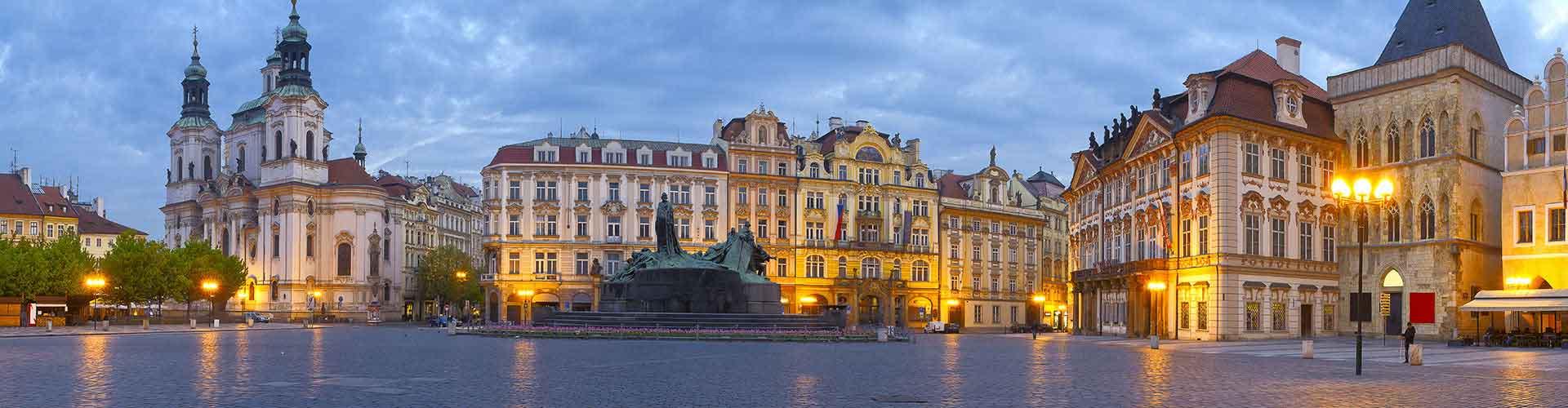 Praga - Hoteles baratos cerca a Centro de la Ciudad. Mapas de Praga, Fotos y comentarios de cada Hotel en Praga.