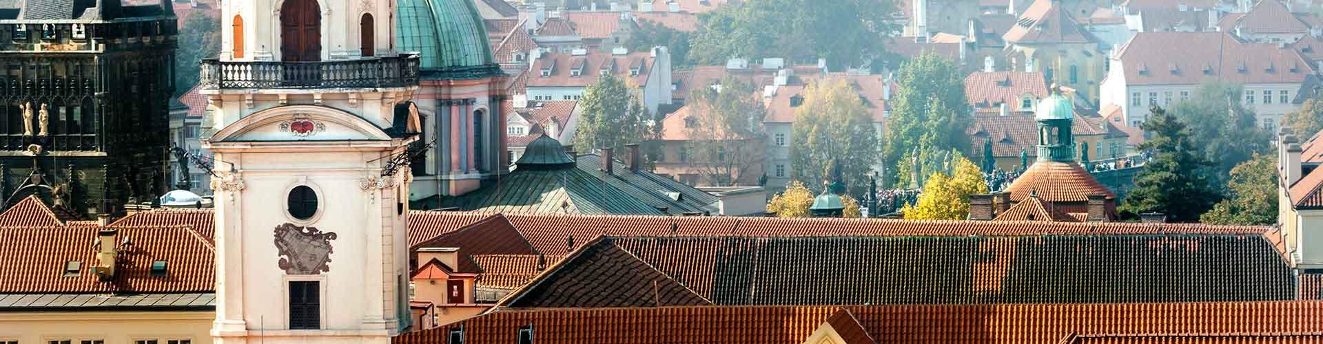 Praga - Hostales cerca a Clementinum. Mapas de Praga, Fotos y comentarios de cada Hostal en Praga.