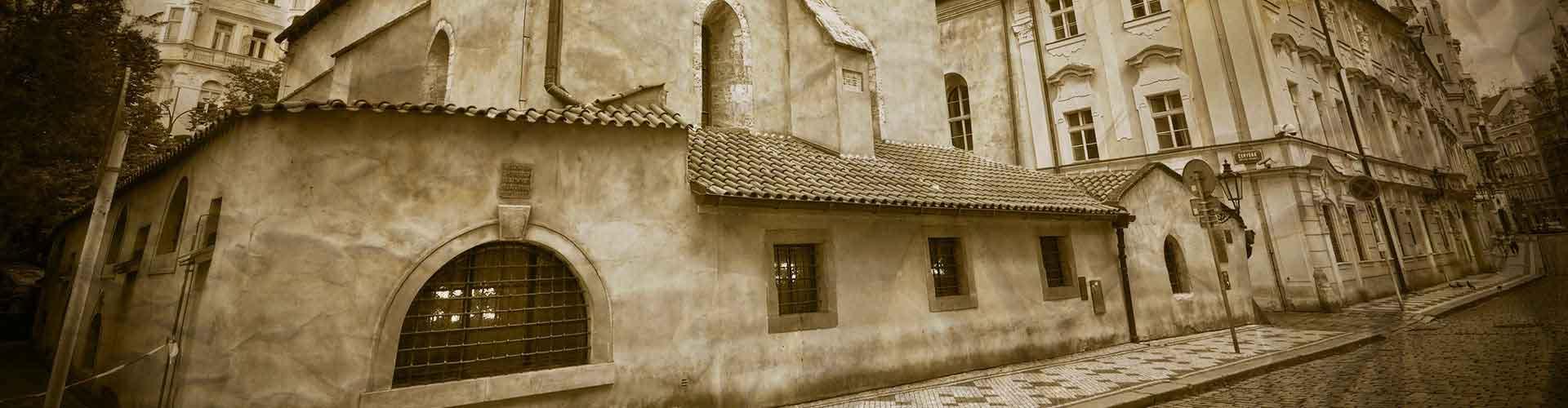 Praga - Hostales cerca a Ayuntamiento Judío. Mapas de Praga, Fotos y comentarios de cada Hostal en Praga.