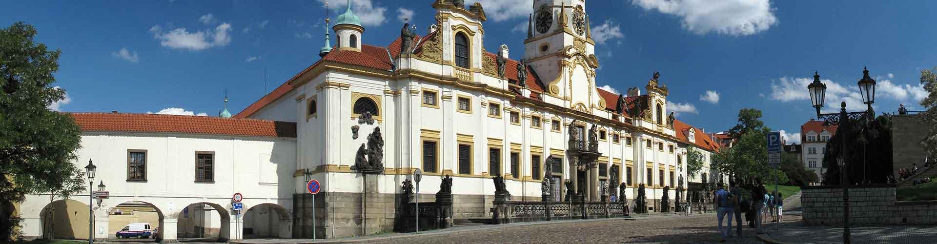 Praga - Hoteles baratos cerca a Loreta. Mapas de Praga, Fotos y comentarios de cada Hotel en Praga.