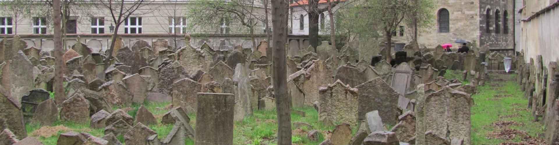 Praga - Habitaciones cerca a Viejo Cementerio Judío. Mapas de Praga, Fotos y comentarios de cada Habitación en Praga.