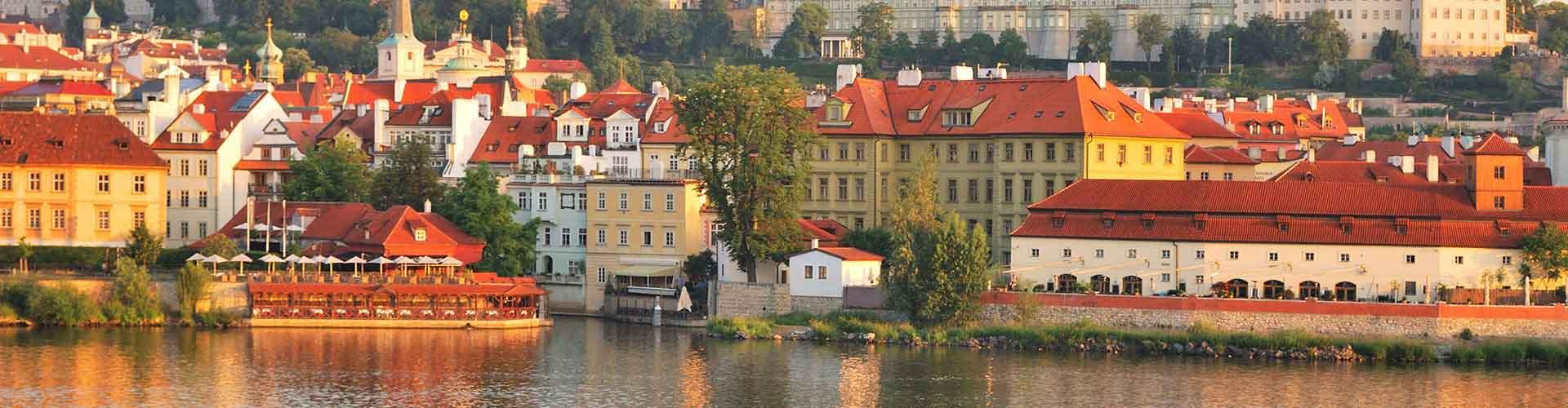 Praga - Hoteles baratos cerca a El Castillo de Praga. Mapas de Praga, Fotos y comentarios de cada Hotel en Praga.