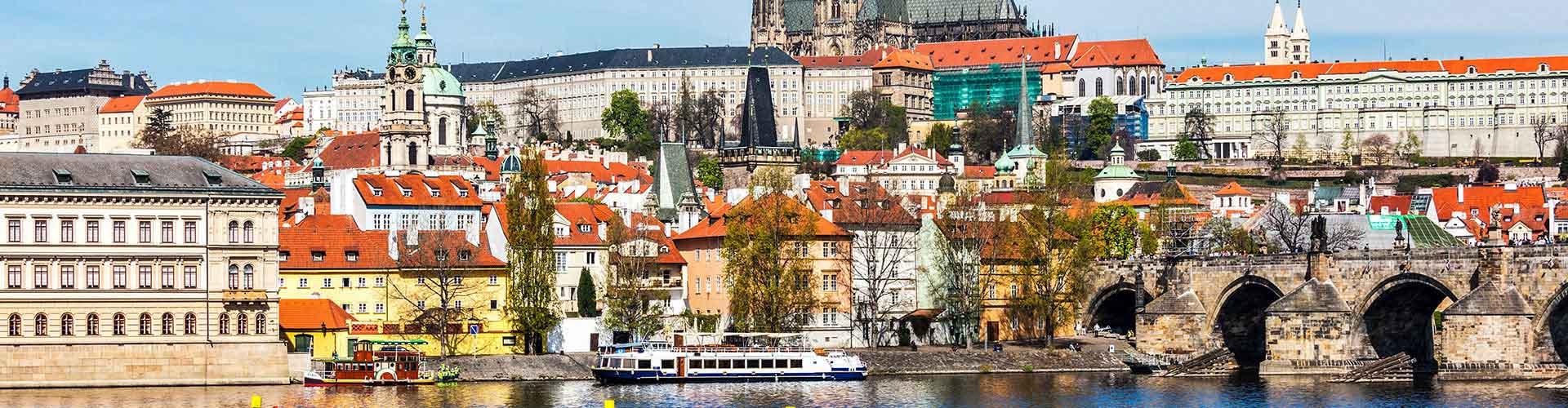 Praga - Hoteles baratos cerca a Catedral de San Vito. Mapas de Praga, Fotos y comentarios de cada Hotel en Praga.