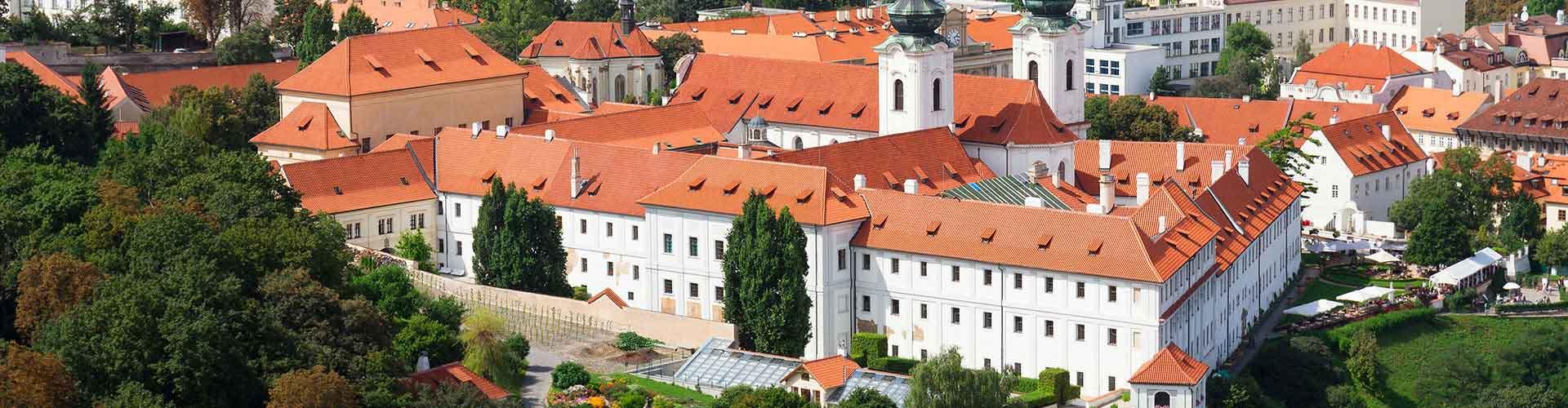 Praga - Campamentos cerca a Monasterio de Strahov. Mapas de Praga, Fotos y comentarios de cada Campamento en Praga.