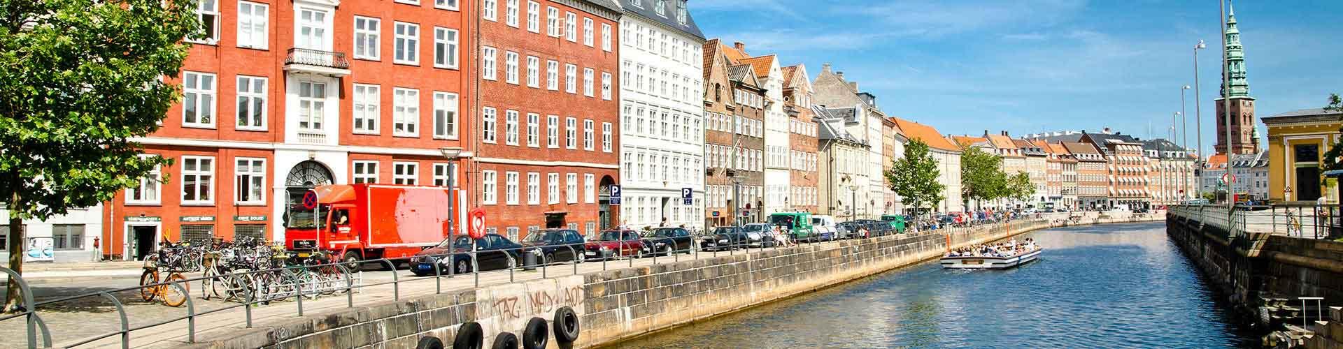 Copenhague - Apartamentos en el distrito Indre By. Mapas de Copenhague, Fotos y comentarios de cada Apartamento en Copenhague.