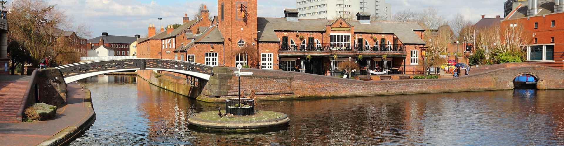 Birmingham - Hoteles baratos en el distrito Aston. Mapas de Birmingham, Fotos y comentarios de cada Hotel barato en Birmingham.