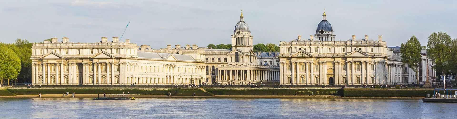 Londres - Hostales en el distrito Municipio de Greenwich. Mapas de Londres, Fotos y comentarios de cada Hostal en Londres.