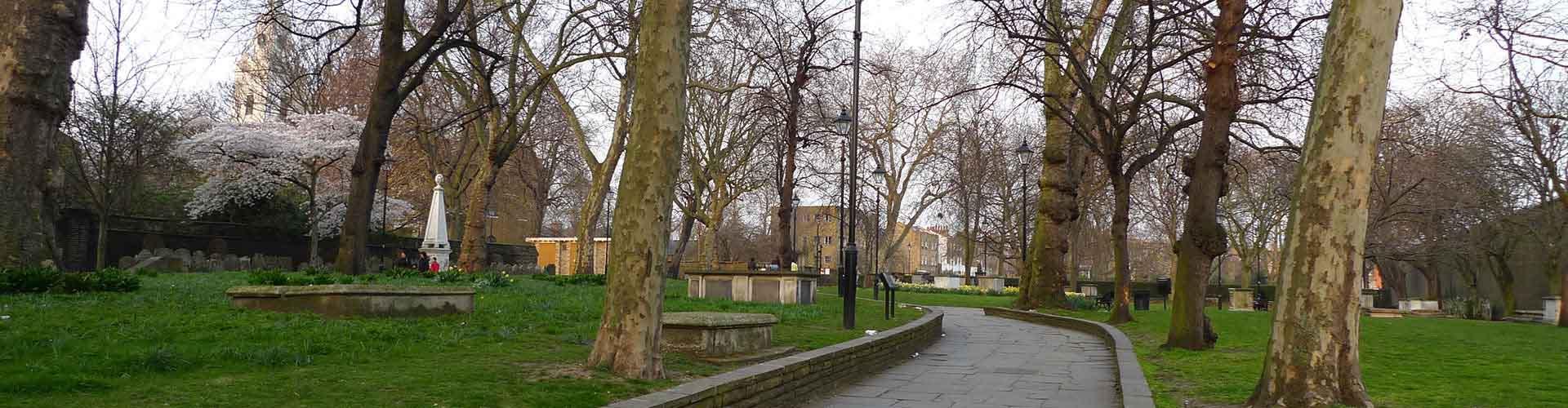 Londres - Campamentos en el distrito Municipio de Hackney. Mapas de Londres, Fotos y comentarios de cada Campamento en Londres.