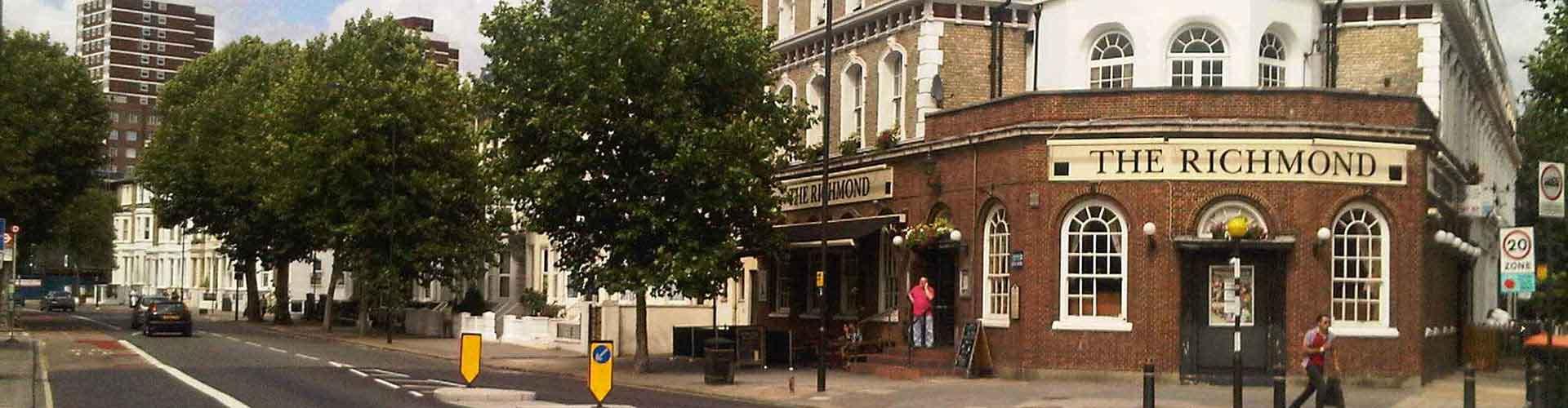 Londres - Apartamentos en el distrito Municipio de Hammersmith y Fulham. Mapas de Londres, Fotos y comentarios de cada Apartamento en Londres.