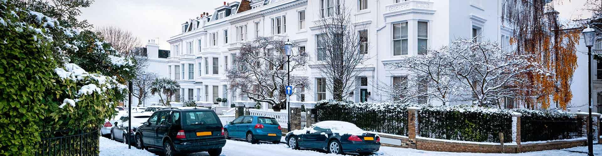 Londres - Hoteles baratos en el distrito Municipio de Kensington y Chelsea. Mapas de Londres, Fotos y comentarios de cada Hotel barato en Londres.