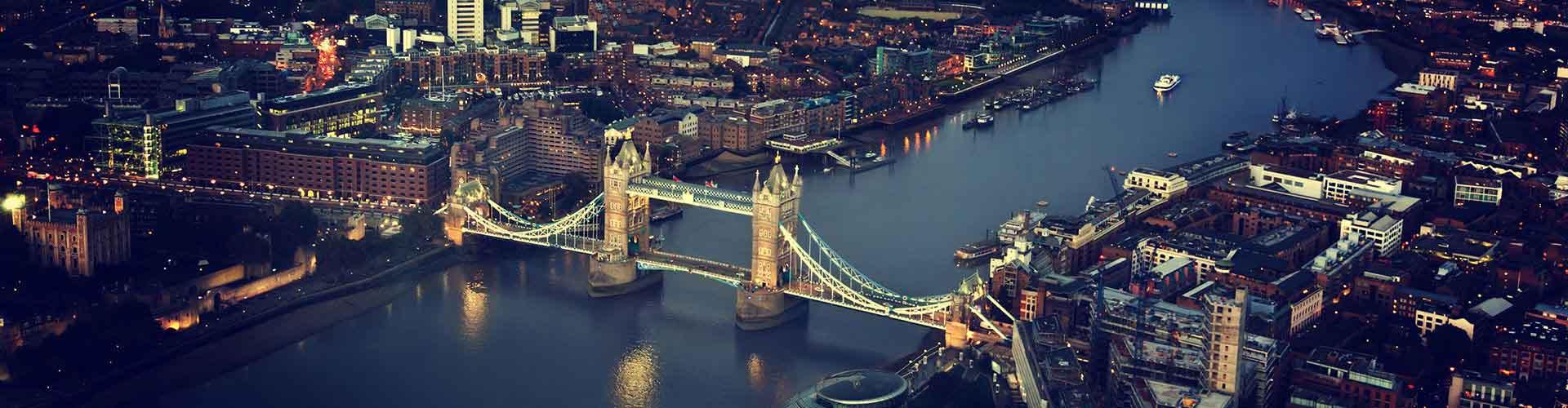 Londres - Hostales en el distrito Distrito de Southwark. Mapas de Londres, Fotos y comentarios de cada Hostal en Londres.