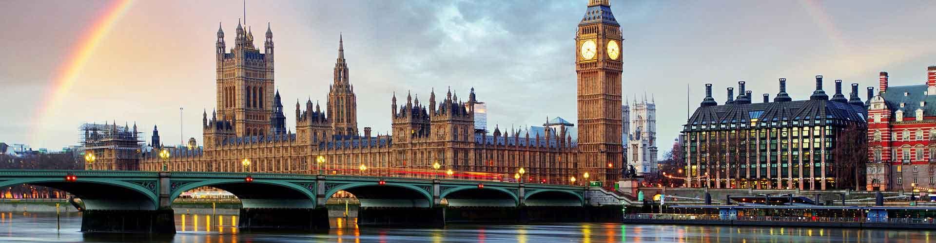 Londres - Hostales en el distrito Término municipal de Westminster. Mapas de Londres, Fotos y comentarios de cada Hostal en Londres.